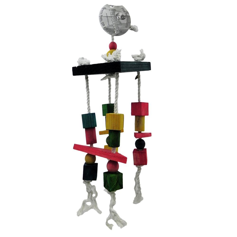 ParroTopia Hanging Around Medium to Large Bird Toy