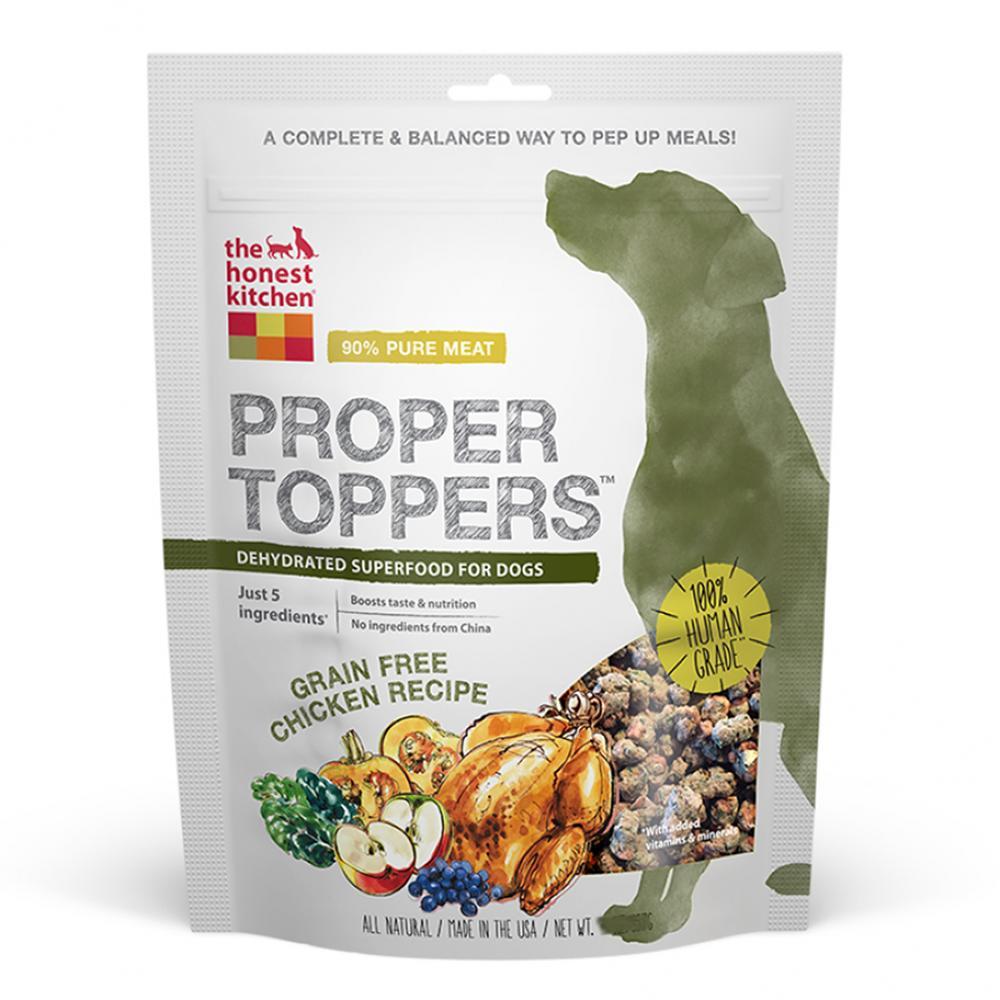 Honest Kitchen Grain Free Proper Toppers Chicken 14.0 oz
