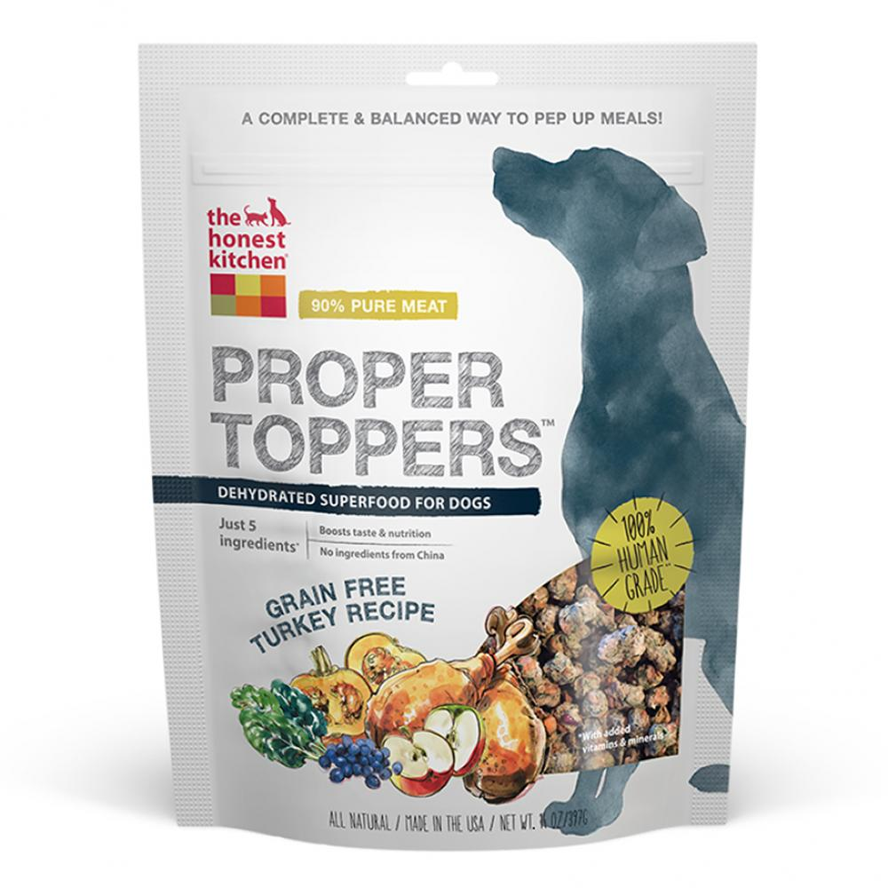 Honest Kitchen Grain Free Proper Toppers Turkey 5.5 oz