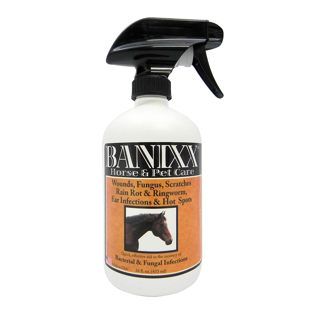 Banixx Anti Bacterial and Fungal Wound Care Spray 16oz.