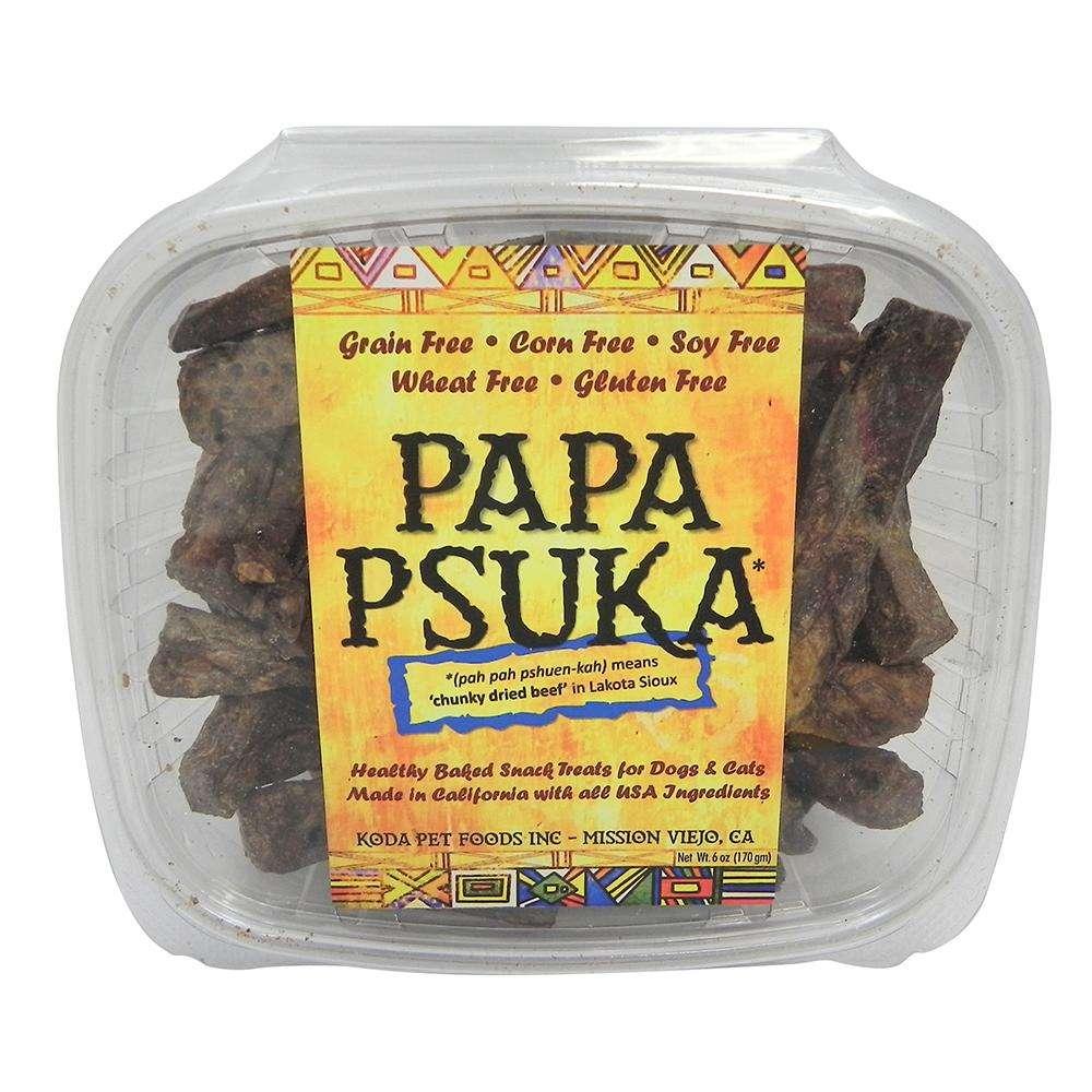 Koda Pet Papa Psuka Natural Beef Dog Treats 6oz