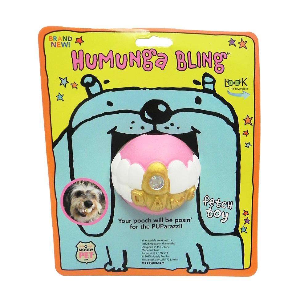 Humunga Bling Ball Medium Dog Toy