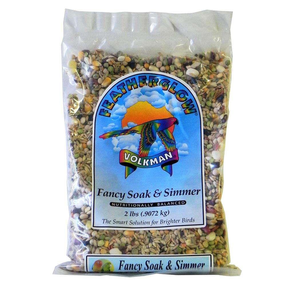 Featherglow Fancy Soak and Simmer Bird Food 2Lb. 3 Pack