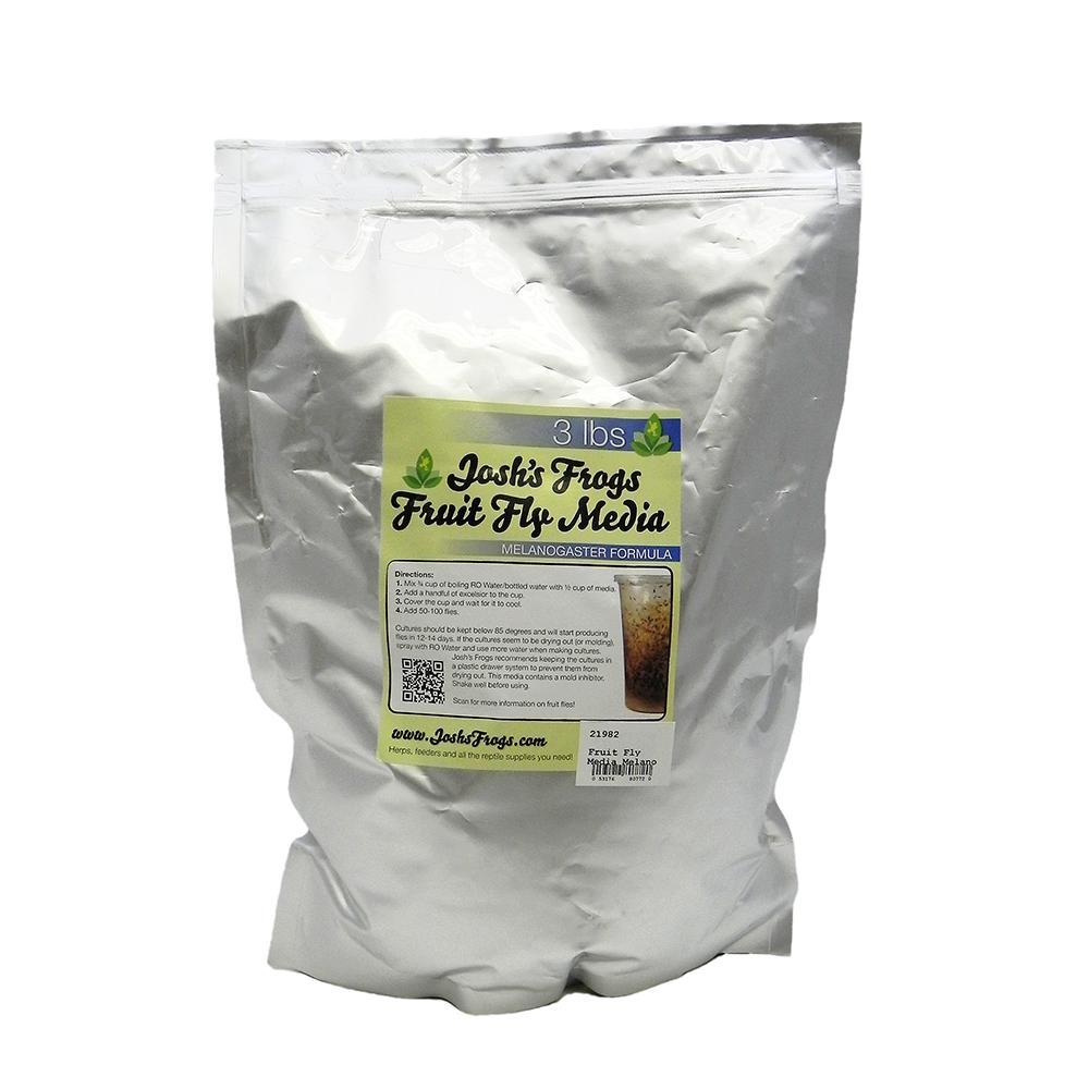 Josh's Frogs Melanogaster Fruit Fly Media 3 lbs