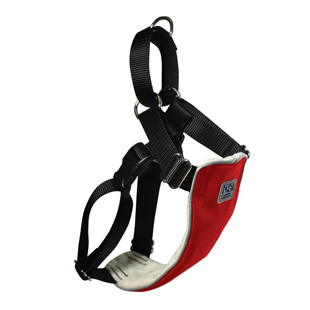 No Pull Martingale Harness Large Red 24-32-inch