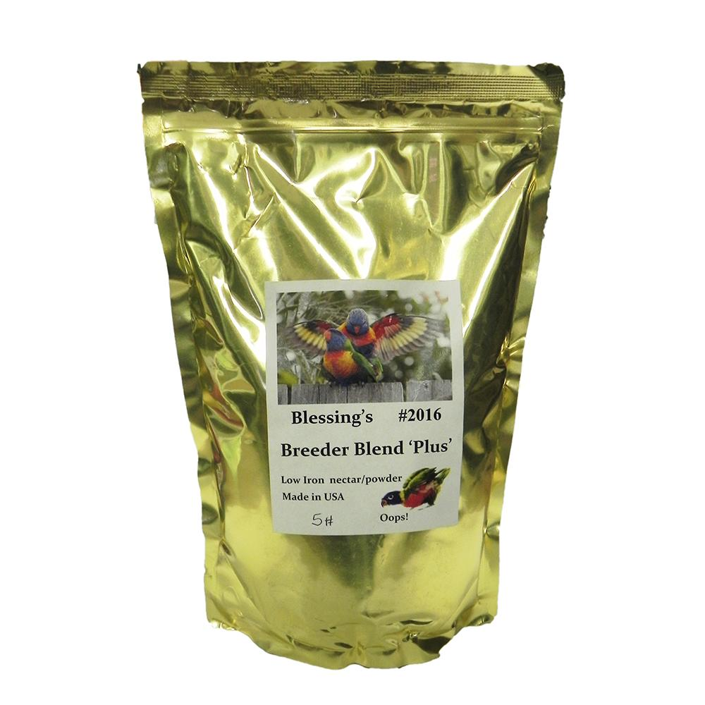 Blessing's Breeder Blend Lory Dry Lorikeet Food 5lb