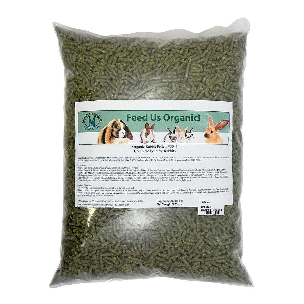 Modest Milling Organic Rabbit Pellets 9.75Lb.