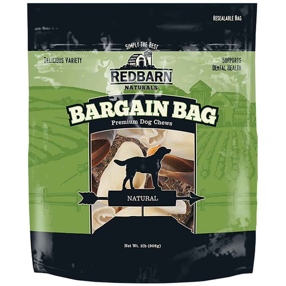 RedBarn Bargain Bag 2lb Super Value Treat Pack