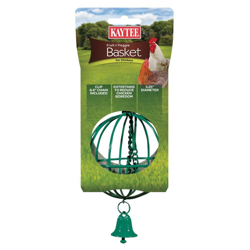 Kaytee Chicken Treat Ball Green or Red