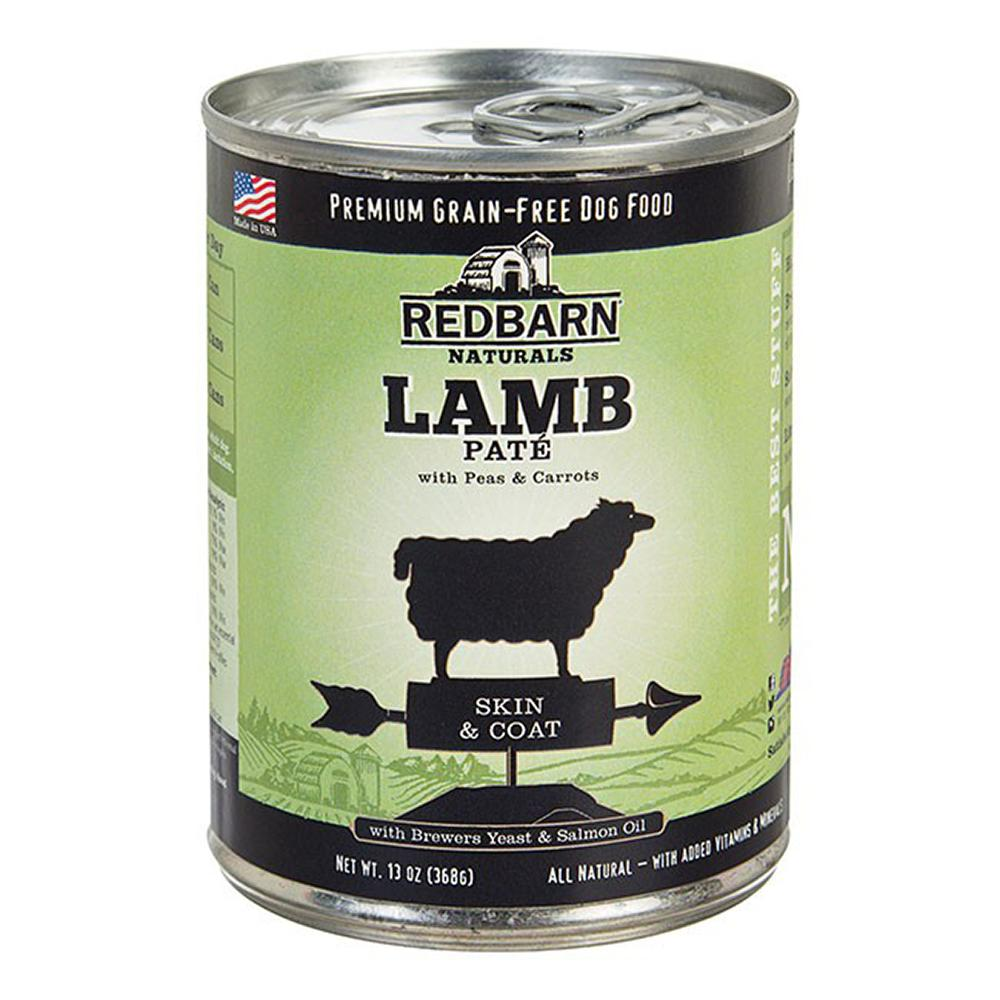 Redbarn Dog Lamb 13oz case