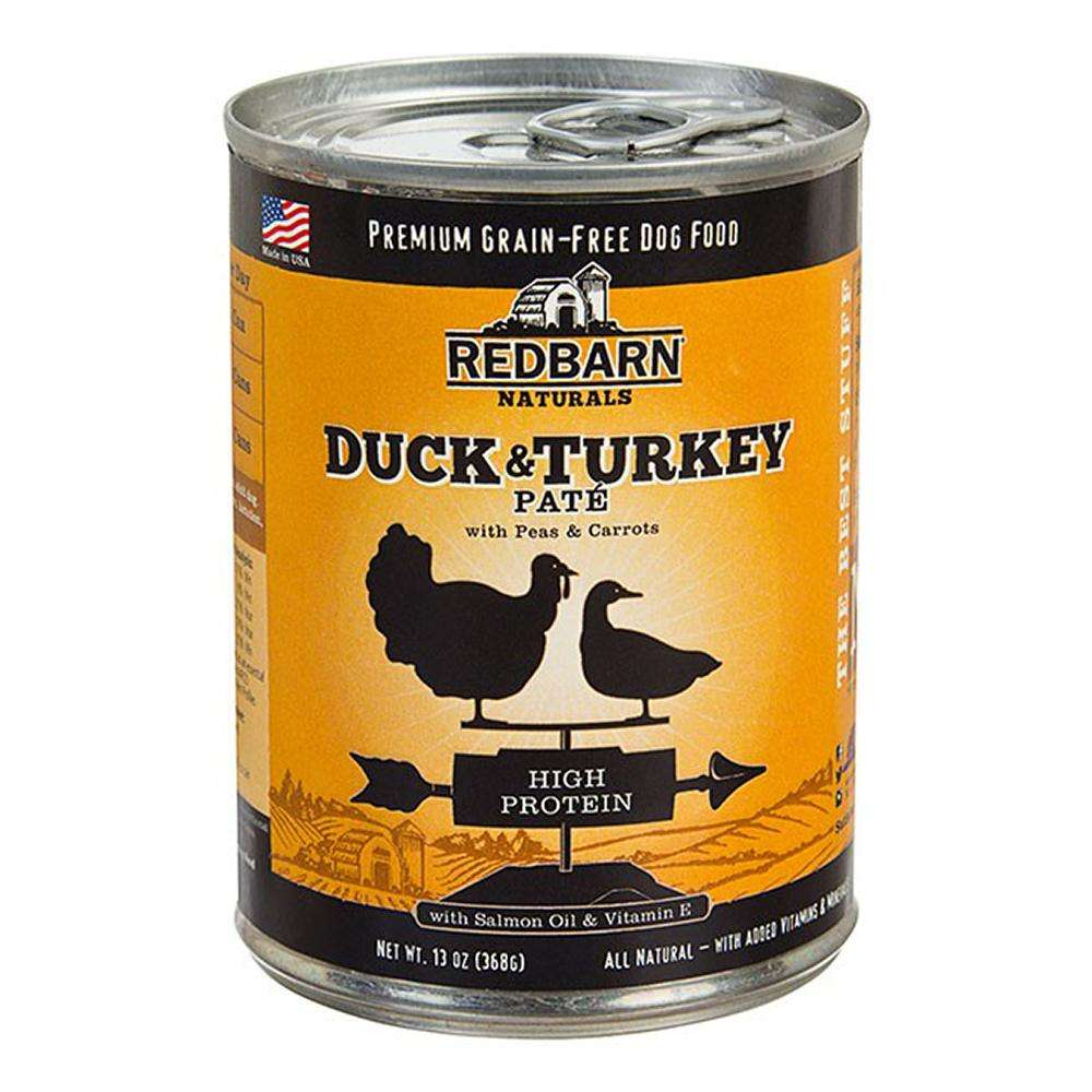 Redbarn Dog Duck Turkey 13oz each