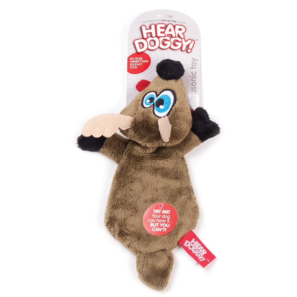 Soft Toy Hear Doggy Ultrasonic Brown Deer Dog Toy