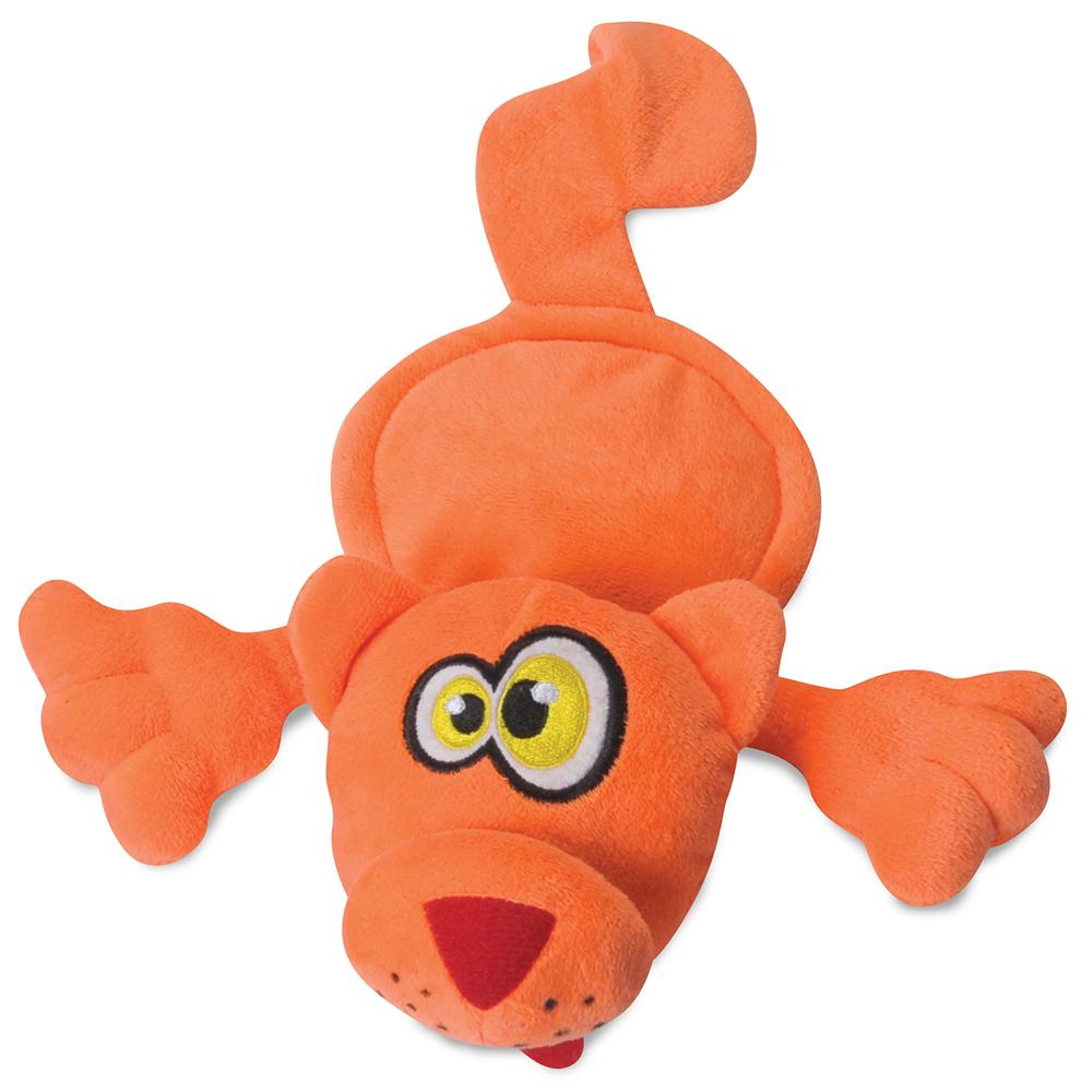 Soft Toy Hear Doggy Ultrasonic Orange Cat Dog Toy