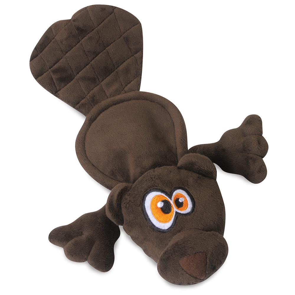 Soft Toy Hear Doggy Ultrasonic Brown Beaver Dog Toy