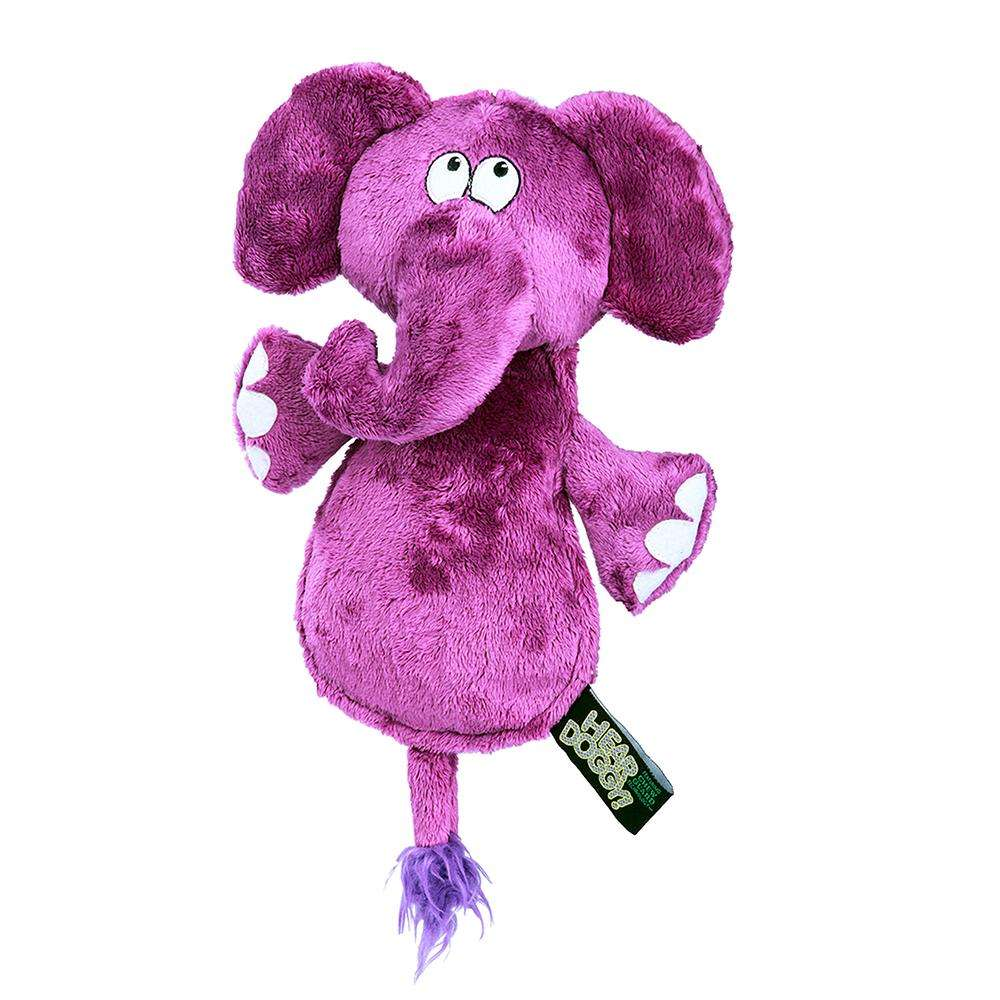 Soft Toy Hear Doggy Ultrasonic Flat Elephant Dog Toy