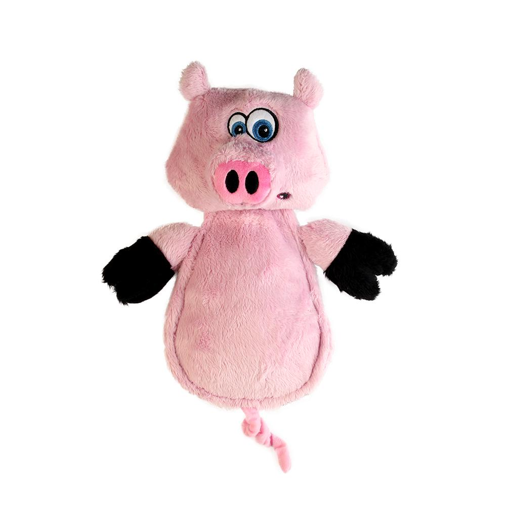 Soft Toy Hear Doggy Ultrasonic Flattie Pig Dog Toy