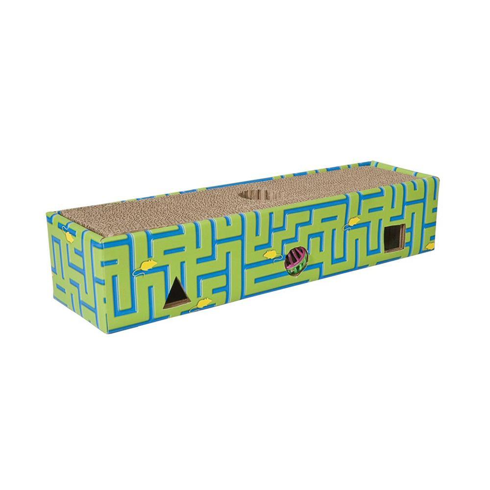 Ware Corrugated Cardboard Cat Scratcher Maze