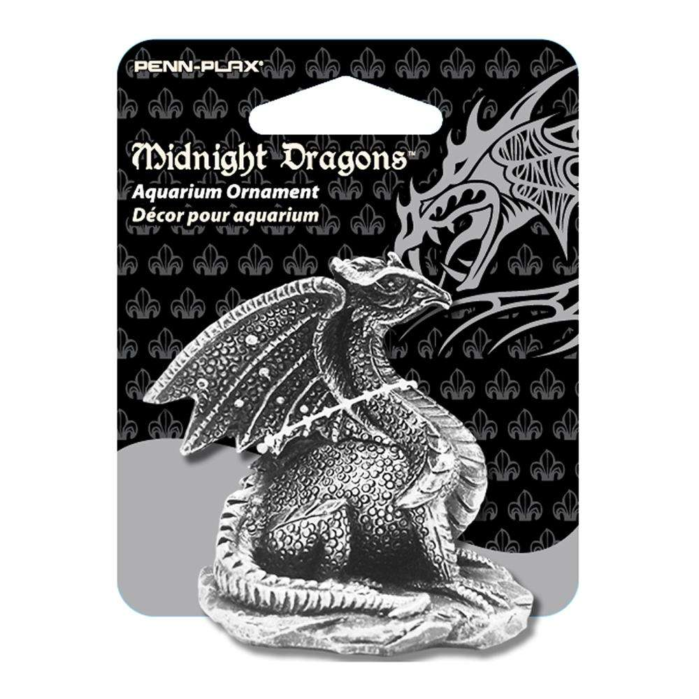 Midnight Dragons Mini Dragon Aquarium Ornament