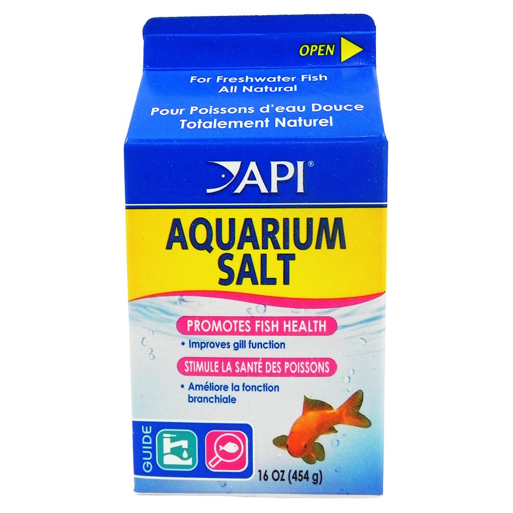 API Fresh Water Aquarium Salt for Brackish Aquariums 16oz