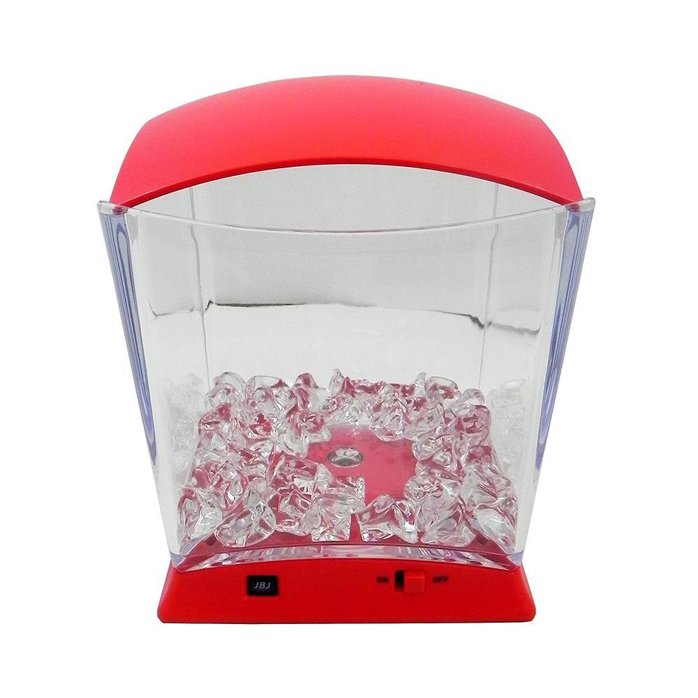 Bottom-Lit Red Neon Betta Aquarium