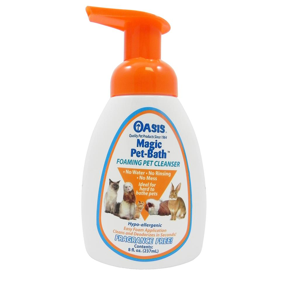 Oasis Magic Pet Bath Small Animal Foam Cleanser