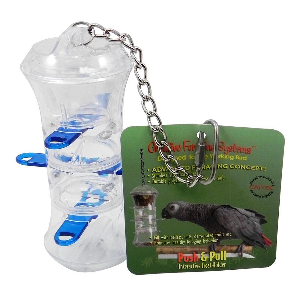 Push and Pull Foraging Interactive Bird Toy
