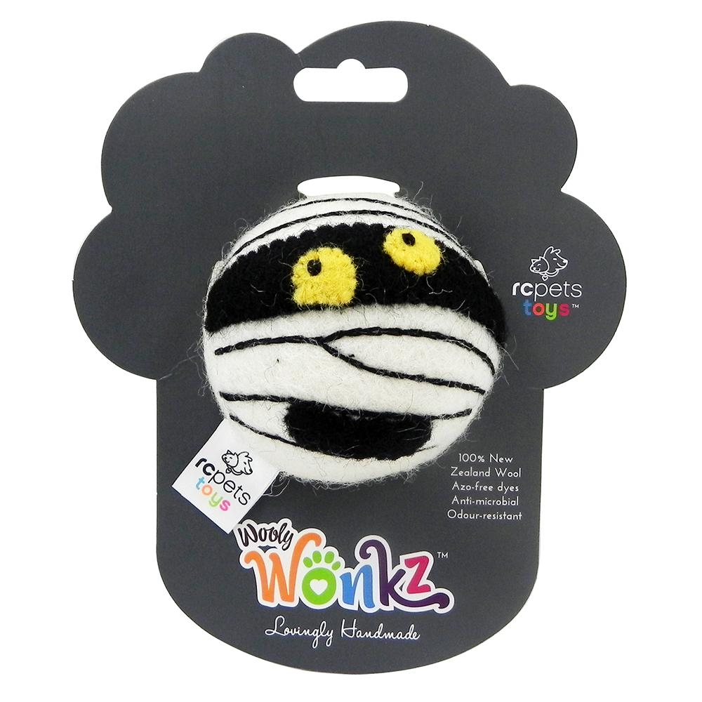 Wooly Wonks Felted Mummy Dog Toy