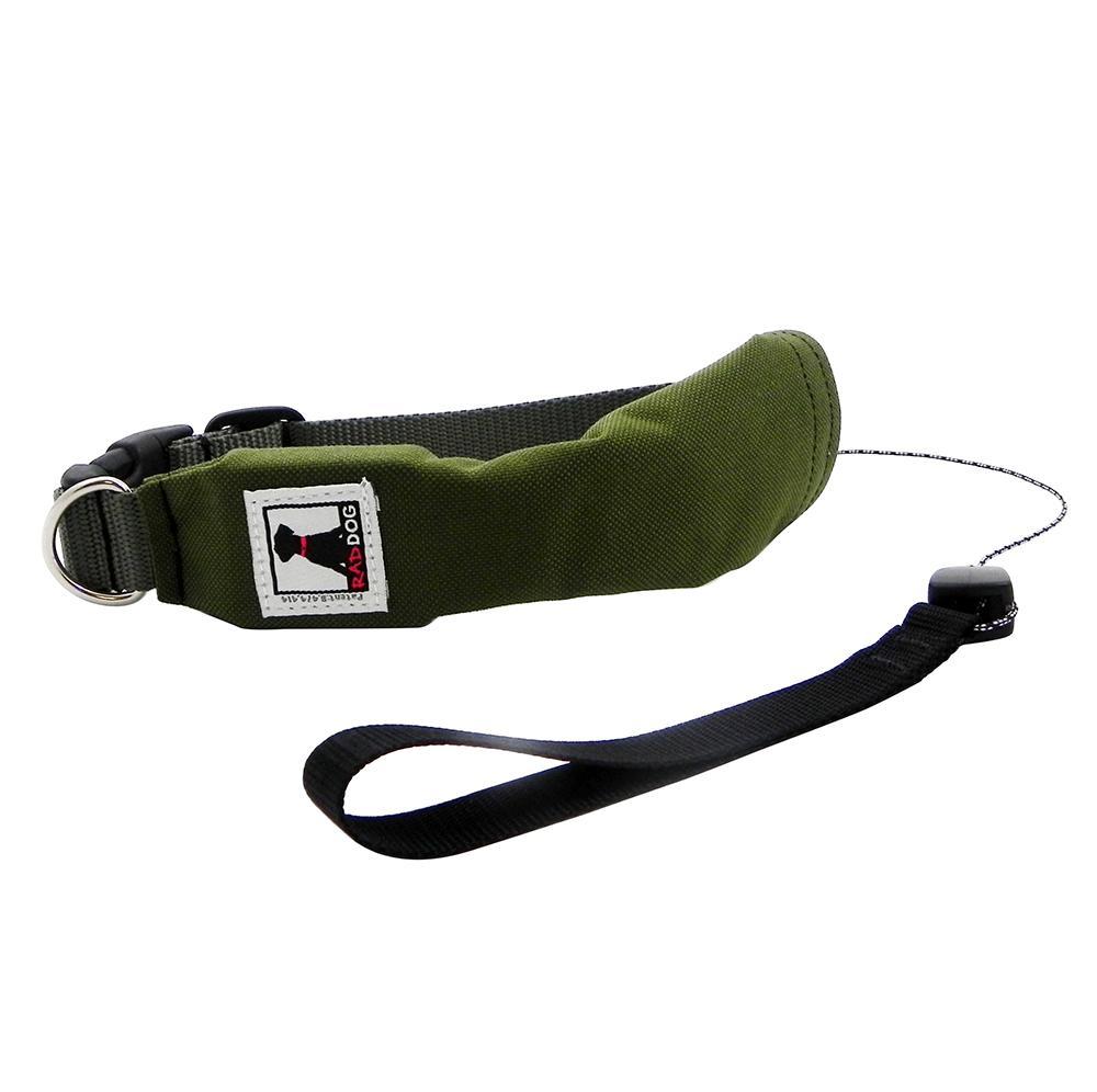 Release N Run Green Medium Collar Retractable Lead