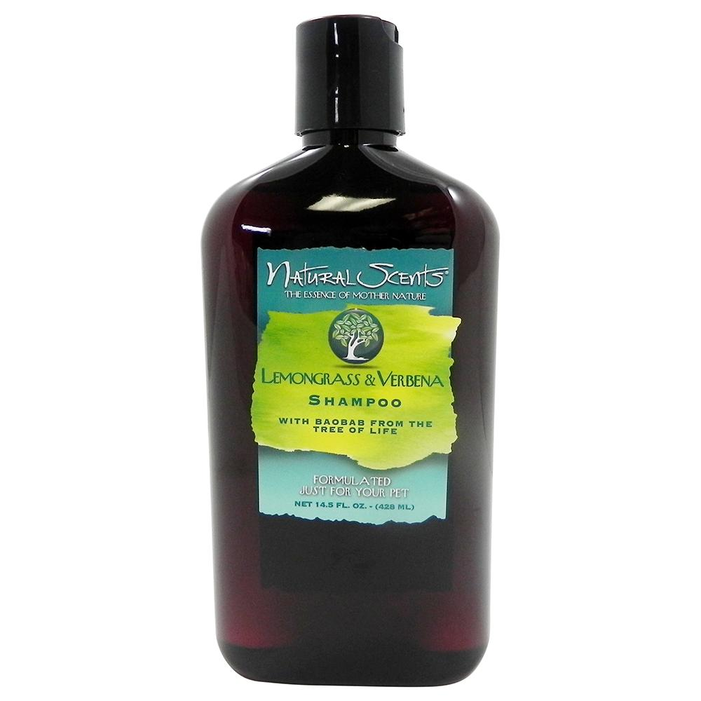 Natural Scents Lemon Grass Verbena Pet Shampoo 14.5oz