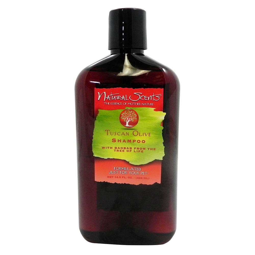 Natural Scents Tuscan Olive Pet Shampoo 14.5oz