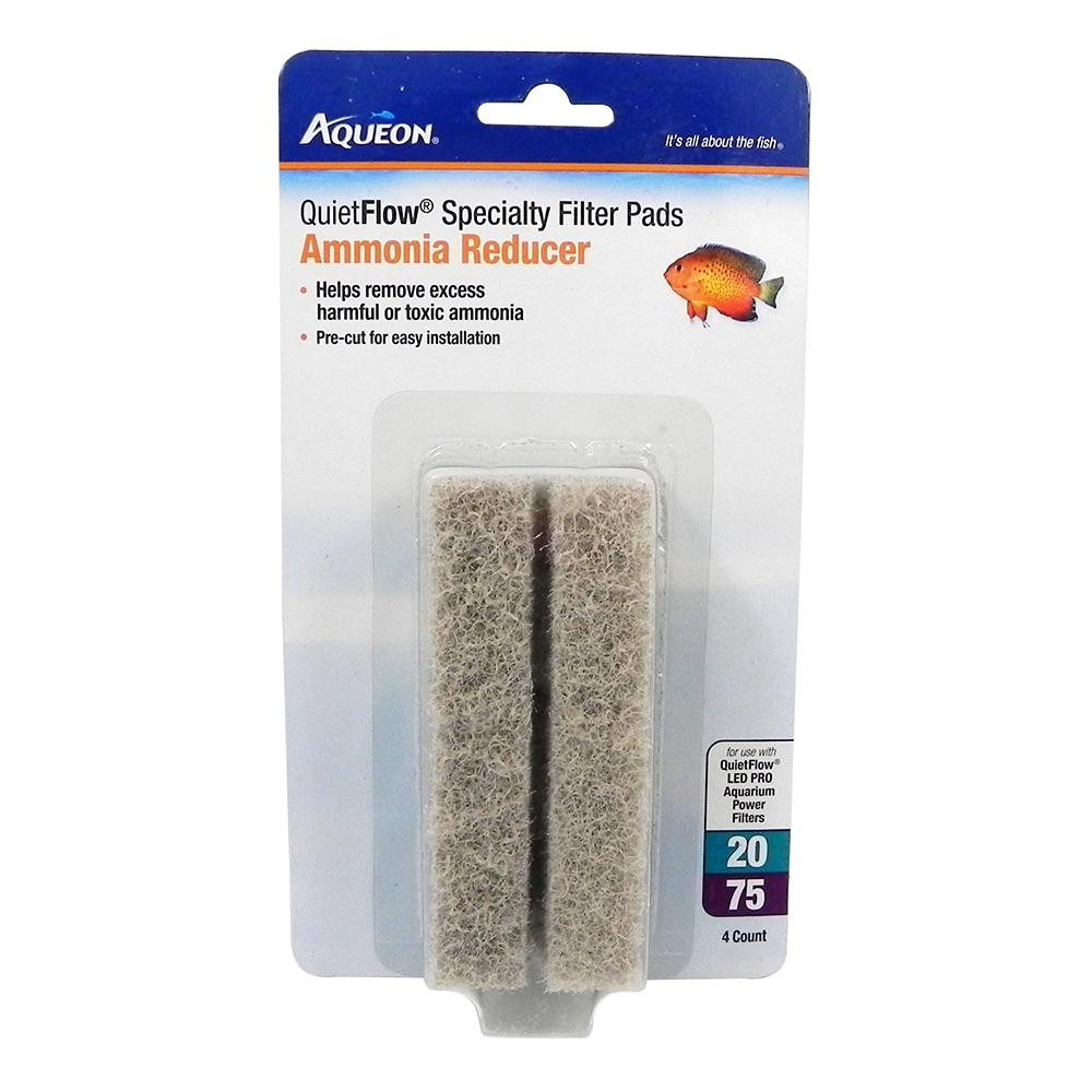 Aqueon Replacement Ammonia Pad for QuietFlow 20-75 Filters