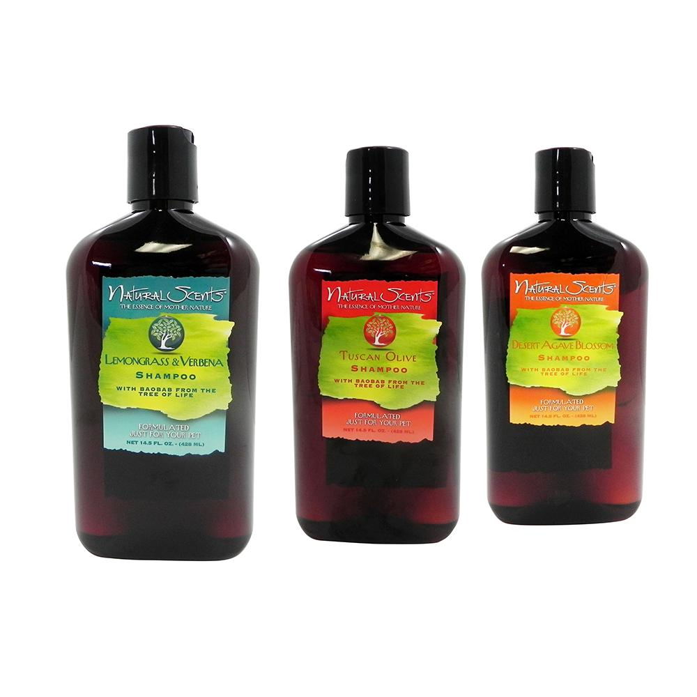 Natural Scents Pet Shampoo Variety Three Pack