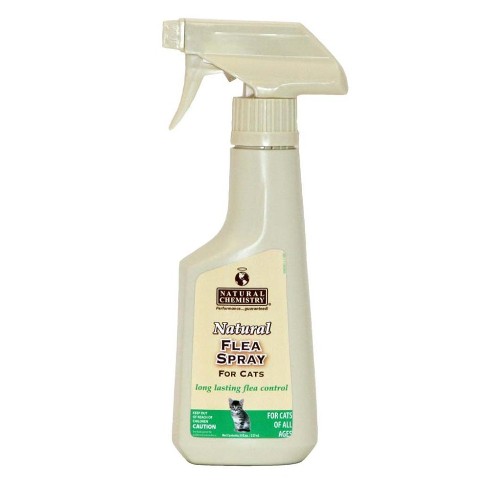 Natural Chemistry Natural Flea Spray for Cats 8oz.