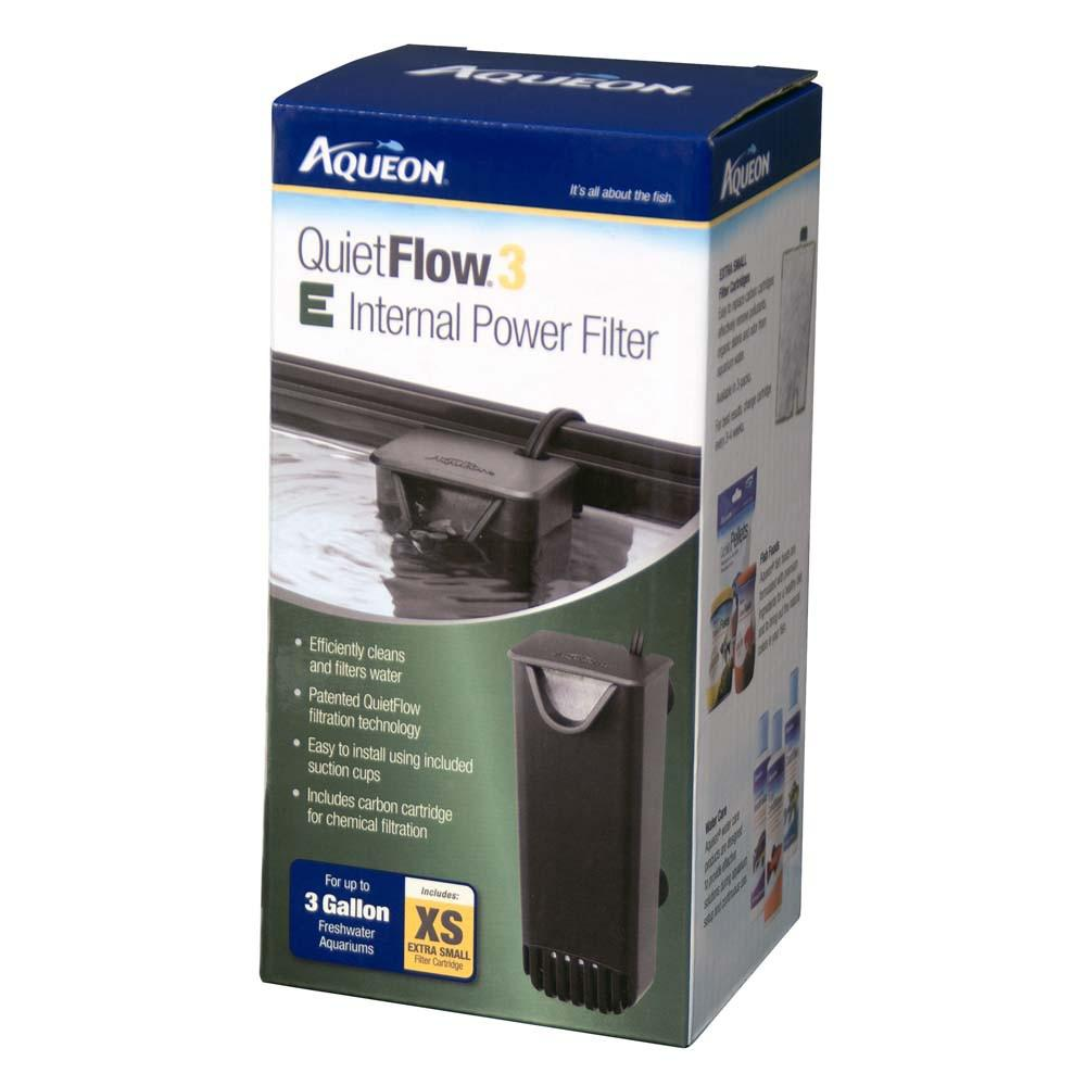 Aqueon Quiet Flow Internal Aquarium Filter XS up to 3 Gallon