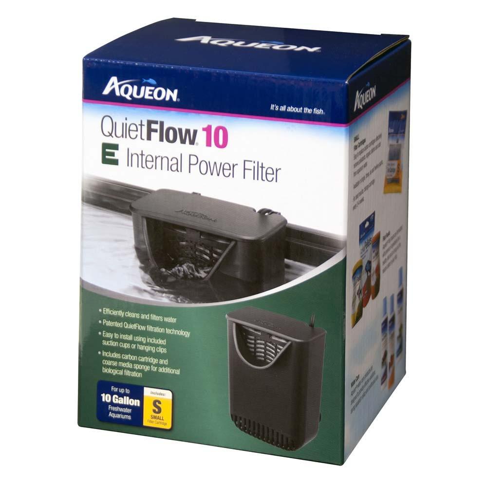 Aqueon Quiet Flow Internal Aquarium Filter SM