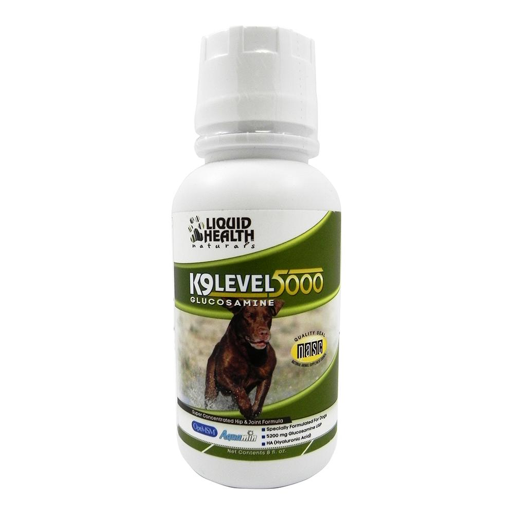 Liquid Health K9 Glucosamine Level 5000 Hip and Joint 8oz