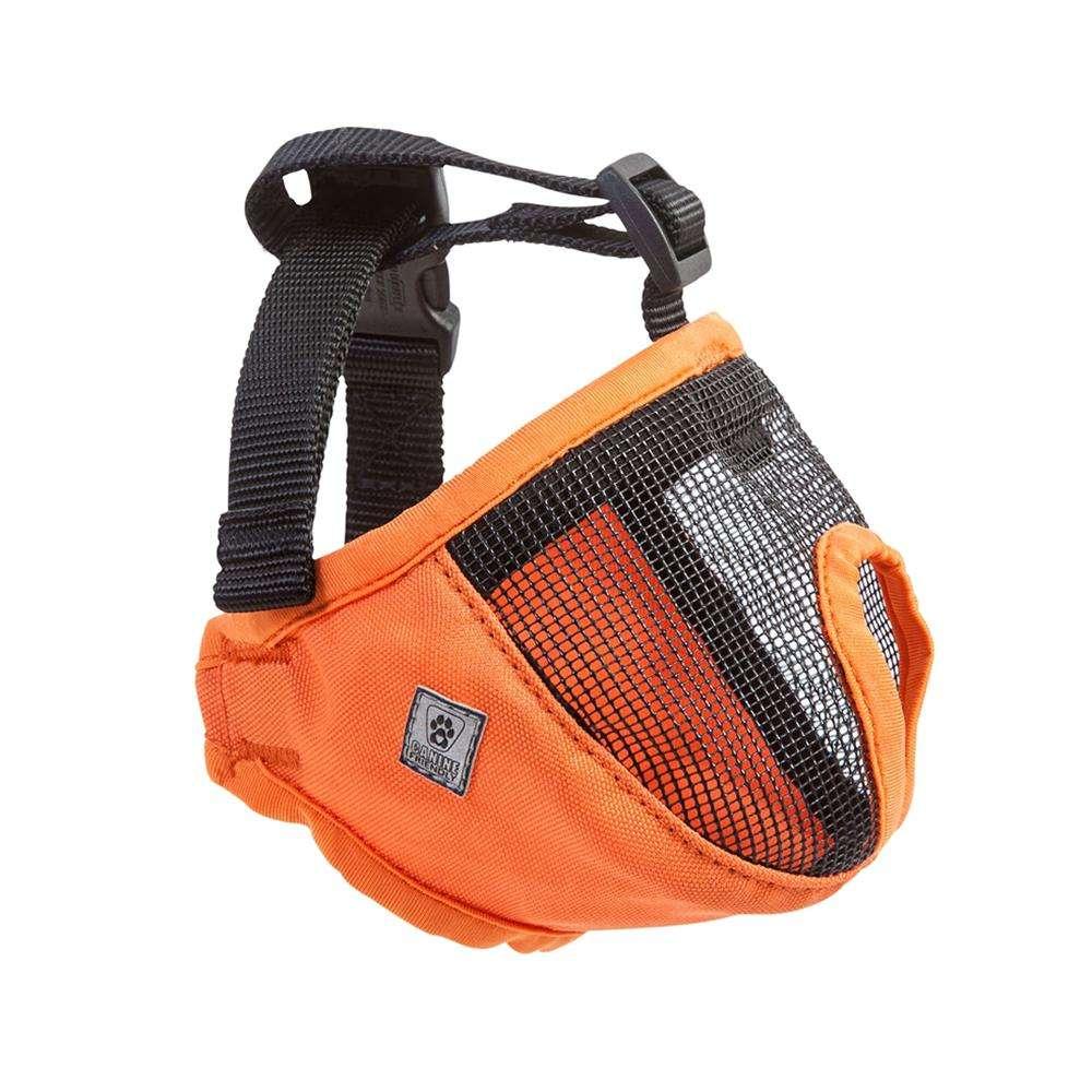 Dog Muzzle Short Snout XLarge Orange