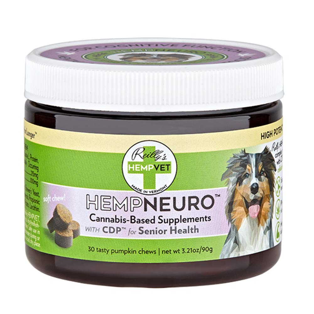 HempVet Neuro Support Supplement for Dogs 30ct