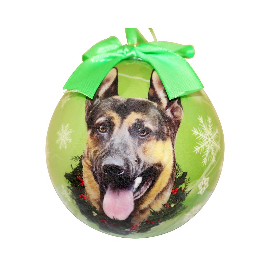 E&S Imports Shatterproof Animal Ornament German Shepherd