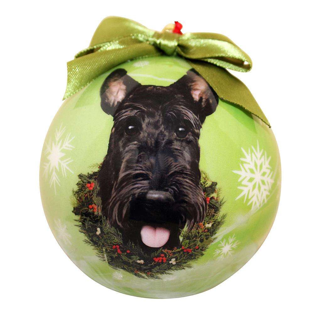 E&S Imports Shatterproof Animal Ornament Westie