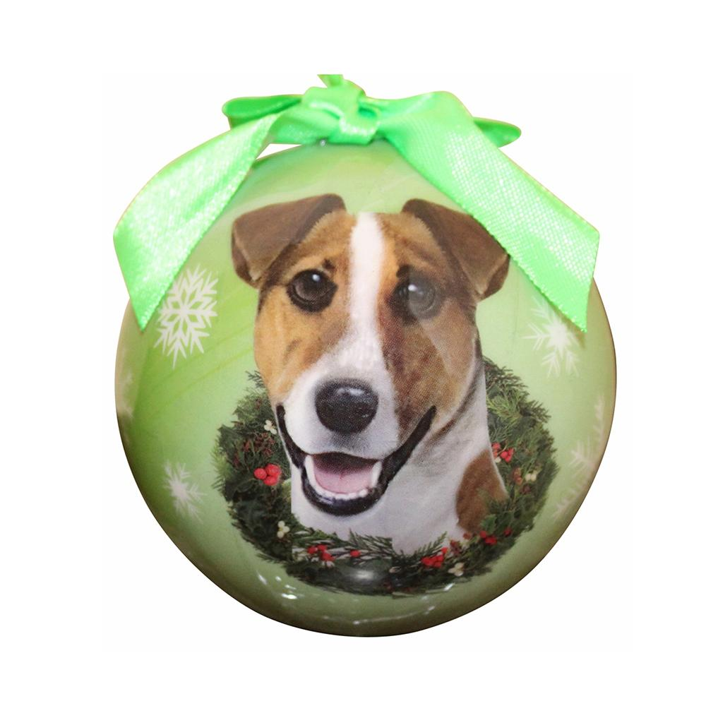E&S Imports Shatterproof Animal Ornament Jack Russell