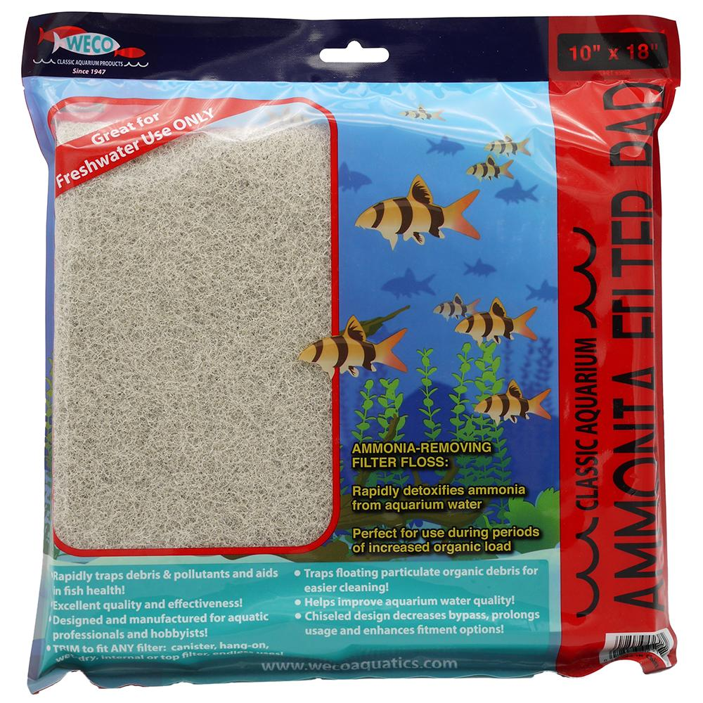 Rio Ammonia Pad For Freshwater Aquariums 10 x 18-in.