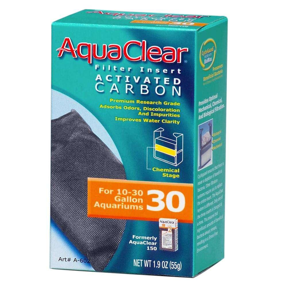 AquaClear 30 Activated Carbon Aquarium Filter Insert