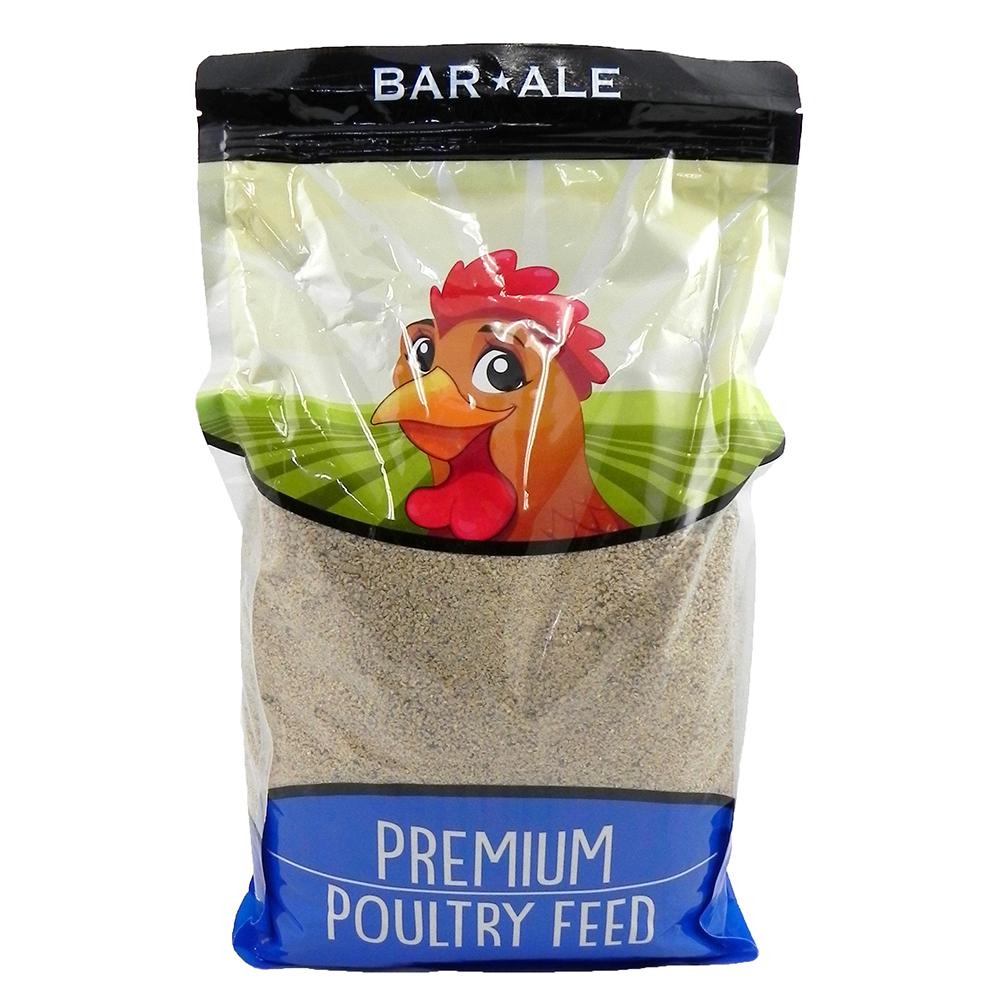 Bar Ale Chick Starter Medicated 20% Poultry Crumble 10lb