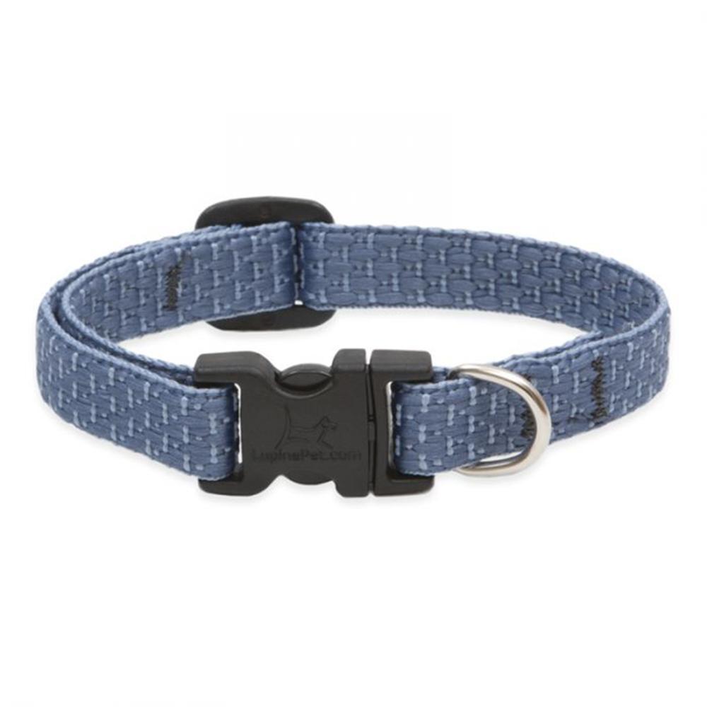 Lupine Nylon Dog Collar Adjustable Eco Mountain Lake 10-16