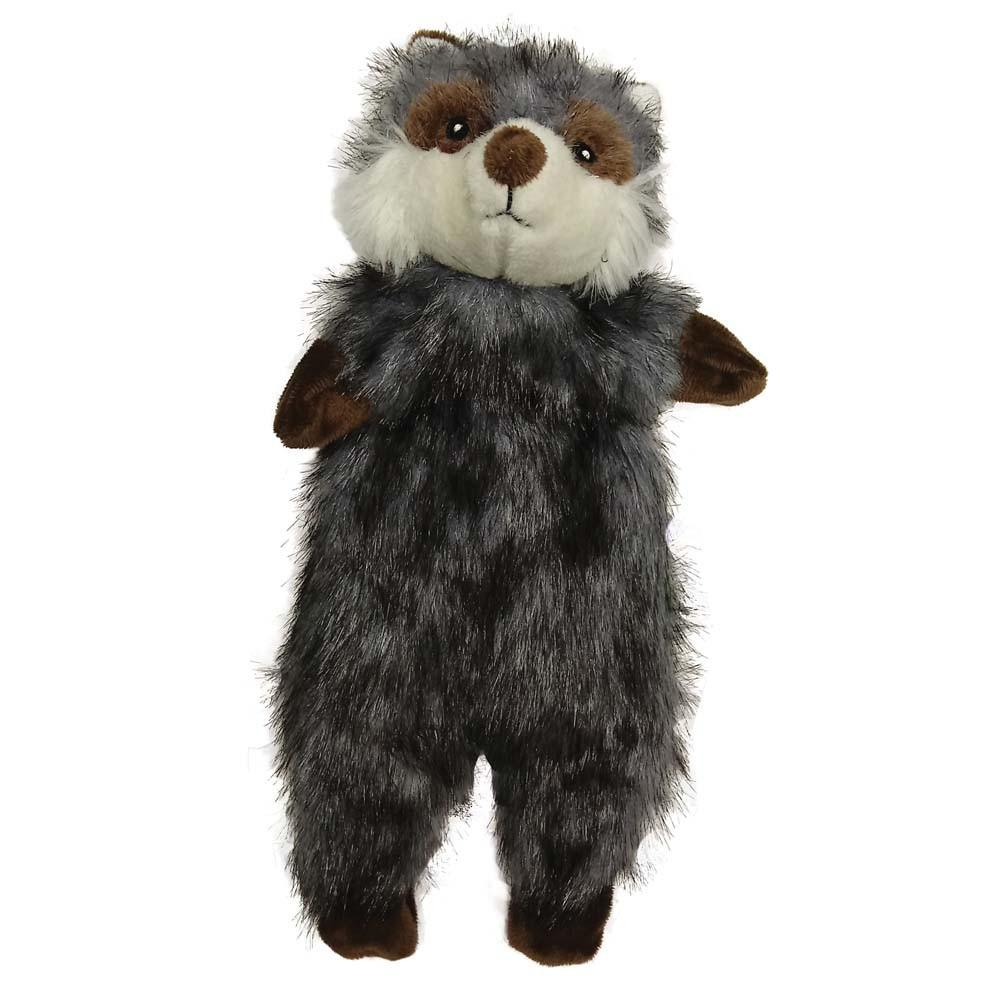 Furrz Raccoon Stuffing-Free 20-inch Plush Toy for Dogs