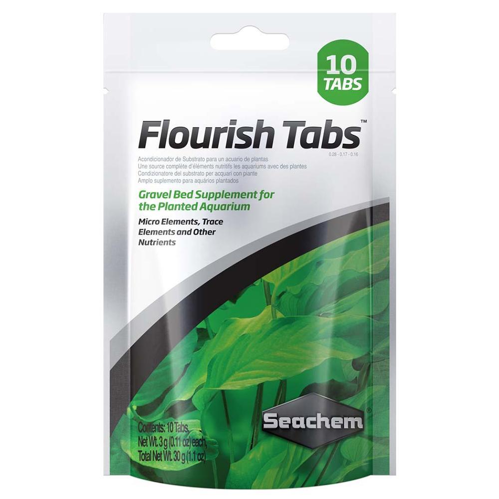 SeaChem Flourish Plant Fertilizer Tablets 10 Pack