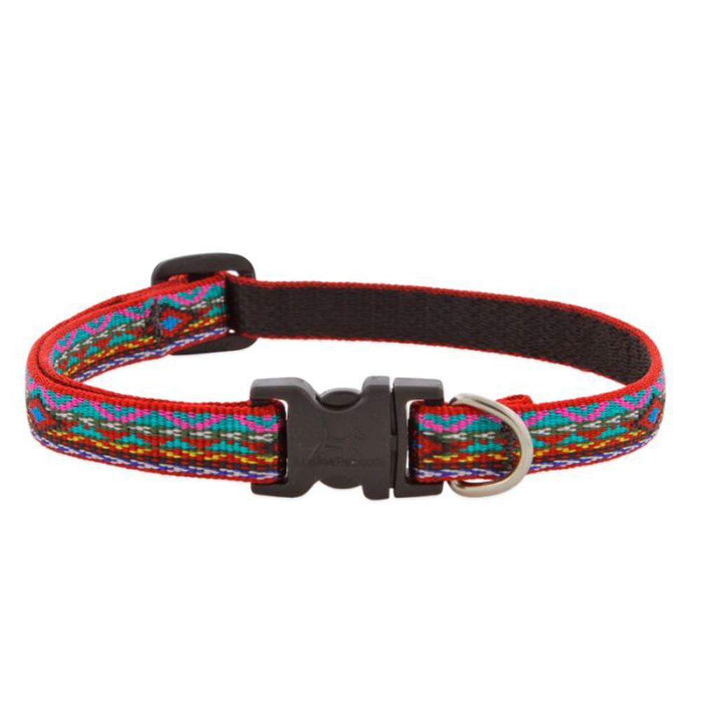 Dog Collar Adjustable Nylon El Paso 8-12 1/2 inch wide