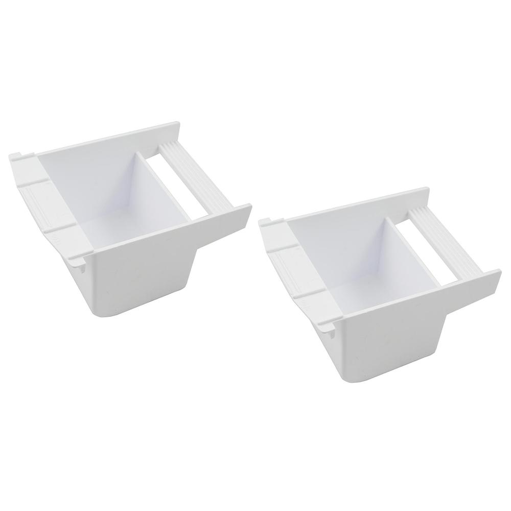 Cup Large Plastic Bird Food and Water Dish 2 Pack