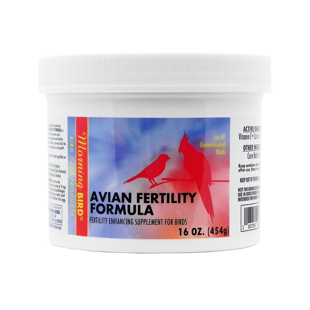 Morning Bird Avian Fertility Supplement for Birds 16oz